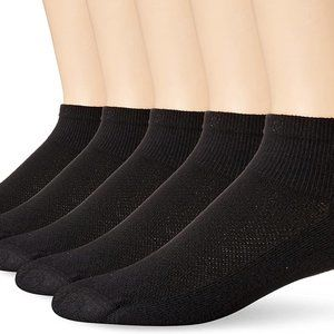 Hanes Men's 5-Pack FreshIQ X-Temp Ankle Socks